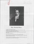 Bury, Richard