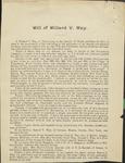 Way, Willard V.