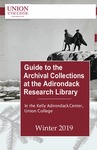 Guide to the Archival Collections at the Adirondack Research Library by Matthew Golebiewski