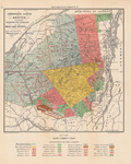 Adirondack Survey Sketch in Colors Showing the Location of the Great Land Patents by Verplanck Colvin