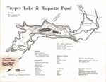 Tupper Lake and Raquette Pond by New York State Conservation Department