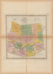 Map of the County of Montgomery and Fulton by David H. Burr and Stone & Clark Republishers