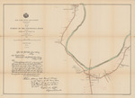 Map of the Survey of the Sacondaga River Between Station 335 and Station 484 by C. G. Locke and Verplanck Colvin