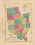 Map of the County of Saratoga by David H. Burr