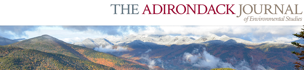 Adirondack Journal of Environmental Studies
