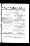The Concordiensis, Volume 1, Number 1
