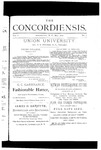 The Concordiensis, Volume 1, Number 7