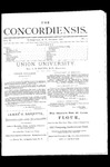 The Concordiensis, Volume 2, Number 1