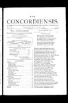 The Concordiensis, Volume 3, Number 4 by John Ickler