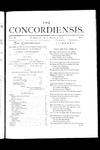 The Concordiensis Volume 3, Number 6