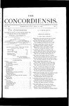 The Concordiensis, Volume 3, Number 7 by John Ickler