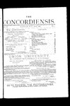 The Concordiensis, Volume 4, Number 7