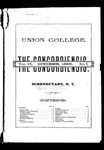 The Concordiensis, Volume 9, Number 1 by F. S. Randall