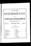 The Concordiensis, Volume 10, Number 4 by E. D. Very