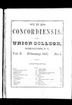The Concordiensis, Volume 10, Number 5 by W. A. Jaycox