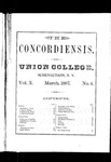 The Concordiensis, Volume 10, Number 6 by J. A. Waycox
