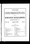 The Concordiensis, Volume 10, Number 7