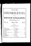The Concordiensis, Volume 10, Number 8 by W. A. Jaycox