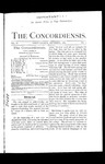 The Concordiensis, Volume 11, Number 1 by H. C. Mandeville
