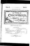 The Concordiensis, Volume 11, Number 4 by H. C. Mandeville