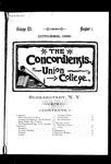 The Concordiensis, Volume 12, Number 1