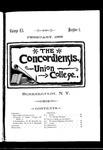 The Concordiensis, Volume 12, Number 5 by James Howard Hanson