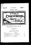 The Concordiensis, Volume 12, Number 7 by James Howard Hanson