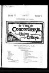 The Concordiensis, Volume 15, Number 1 by H. B. Williams