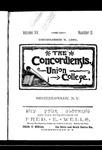 The Concordiensis, Volume 15, Number 5 by H. B. Williams