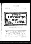 The Concordiensis, Volume 15, Number 6 by H. B. Williams