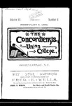 The Concordiensis, Volume 15, Number 8 by H. B. Williams