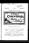 The Concordiensis, Volume 15, Number 9 by H. B. Williams