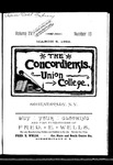 The Concordiensis, Volume 15, Number 10 by H. B. Williams