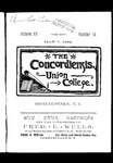 The Concordiensis, Volume 15, Number 14 by H. B. Williams