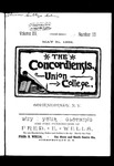 The Concordiensis, Volume 15, Number 15 by H. B. Williams