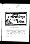 The Concordiensis, Volume 15, Number 16 by H. B. Williams
