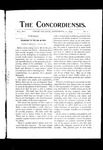 The Concordiensis, Volume 16, Number 1 by George T. Hughes
