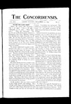 The Concordiensis, Volume 16, Number 7 by George T. Hughes