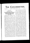 The Concordiensis, Volume 16, Number 13 by George T. Hughes