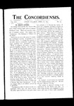 The Concordiensis, Volume 16, Number 14