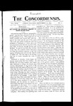 The Concordiensis, Volume 17, Number 1 by Ashley J. Braman
