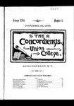 The Concordiensis, Volume 18, Number 3 by Clarke Winslow Crannell