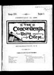 The Concordiensis, Volume 18, Number 9 by Clarke Winslow Crannell
