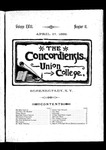 The Concordiensis, Volume 18, Number 12 by Clarke Winslow Crannell