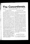 The Concordiensis, Volume 20, Number 3 by F. Parkard Palmer