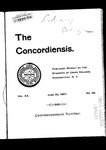The Concordiensis, Volume 20, Number 36 by F. Packard Palmer