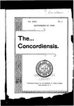 The Concordiensis, Volume 23, Number 1 by Philip L. Thomson