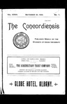 The Concordiensis, Volume 27, Number 1 by A. H. Rutledge