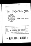 The Concordiensis, Volume 27, Number 7 by A. H. Rutledge