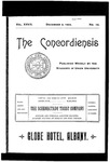 The Concordiensis, Volume 27, Number 10